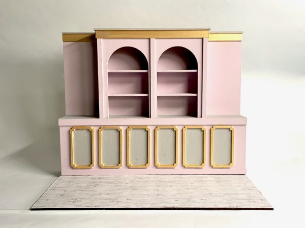 DIY Kit - 1:12 Scale Old Fashioned Style Shop Miniature Dolls House Room Box